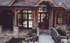 Impressive Rustic Mountain House Plans with Walkout Basement On Mountain Chalet House Plans