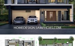 Incredible House Design Plans 13x14m with 4 Bedrooms – Home Ideas In On Simple Modern House Design