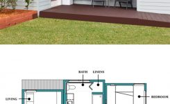 Incredible Small Modern In Law Cottage 500sft 1 Bedroom 1 Bathroom by On Modern Cabin Plans