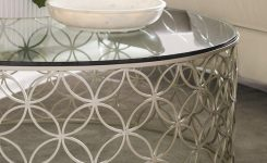 Irresistible Bubble Over Caracole On Glass Contemporary Coffee Table