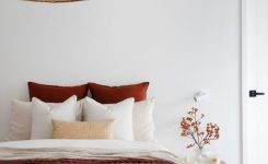 Irresistible Indoor Outdoor Living at the Kedron Street House Style On Boho Bed Pillows