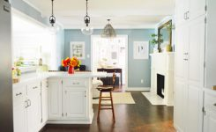 best paint for kitchen walls satin or semi gloss