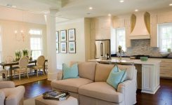 small kitchen living room layouts