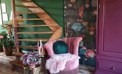 Lovely Boho Style Ideas for Interior Designs and Decor On Home Decor Ideas Living Room Modern Boho area Rug with Plum Accents