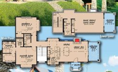 Lovely Plan Mk Rugged 2 Bed House Plan with Lower Level Bunk On Mountain Chalet House Plans