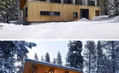 Magnificent 16 Examples Modern Houses with A Sloped Roof On Mountain Cabin Plans Hillside