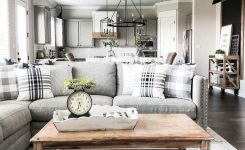 Magnificent 35 Awesome Rustic Farmhouse Living Room Decor Ideas On Farmhouse Living Room Decor Images