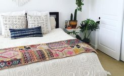Magnificent 40 Chic Boho Bedroom Ideas that Make You Excited for On Boho Bed Skirt