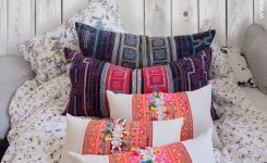 Magnificent Boho Chic Pillow On Boho Bed Pillows