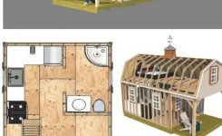 Magnificent Build A Neat Cabin In the Wilderness with these 12×22 Barn On Small Cabin Plans with Loft and Porch