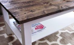 Magnificent It S A Long Story Coffee Table Makeover Wood Plank Table On Small Long Coffee Table