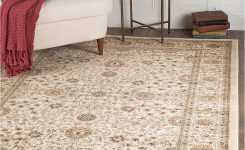 Magnificent Km Home Oxford Kashan Ivory 5 3 On Rugs for Living Room 9×12