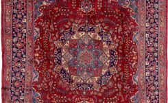 Magnificent Mashad Red Antique 9×12 area Rug On Home Decor Ideas Living Room Modern Boho area Rug 9×12