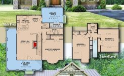 Magnificent Plan Mk Rustic Cottage House Plan with Wraparound On Small Rustic Cabin Plans