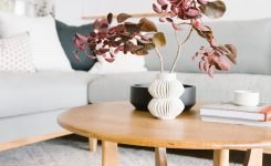 Magnificent Samantha Gluck S Bright Minimal Scandi Inspired House tour On Living Room Coffee Table Decor Ideas Boho Chic Bedding Sets
