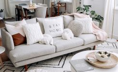 Nice-looking Fan Of Gray Couches On Small Living Room Decor Ideas Boho Rugs 9×12