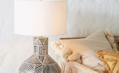Nice-looking Textured Indira Pillow On Table Lamps for Living Room