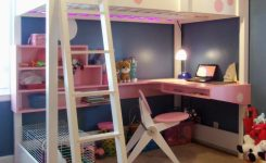 Of Bunk Bed With Desk And Drawers