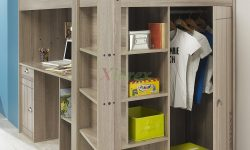 ✔15+ Pleasing Bunk Bed with Desk and Drawers