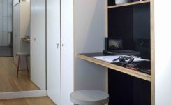 -of-bunk Bed with Desk for Adults