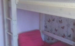 -of-bunk Bed with Desk for Girl
