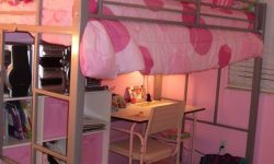 21+magnificent Bunk Bed with Desk for Girl