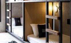 -of-bunk Beds with Desk Underneath