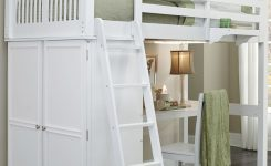 -of-loft Bed with Desk and Dresser