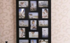 Pleasing Amazon 24 Opening Wooden Wall Black Collage On Picture Frames for Wall Art