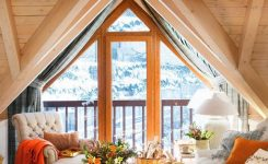 Pleasing Cottage Relaxing Room On Rustic Mountain Retreat House Plans
