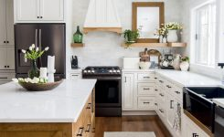 Pleasing Floral Spring Kitchen and Dining Room Decor On Kitchen Dining Room Ideas