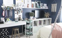 Prodigious Blue Girls Room On Moroccan themed Furniture and Rugs