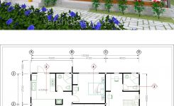 Prodigious House Plans 13×9 5m Full Plan 2beds Sam House Plans On Free Small Cabin Plans with Loft
