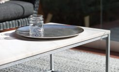 Prodigious Suited to Your Upscale Apartment or Your Rooftop Patio the On Glass Contemporary Coffee Table