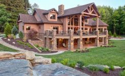 Rustic mountain house plans with walkout basement inspirational 111 rustic log cabin homes design ideas