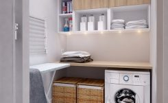 small laundry room ideas cabinets