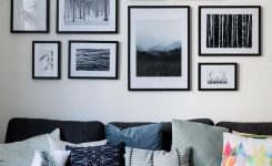 Stunning 36 Beautiful Living Room Wall Gallery Decorating Ideas On Wall Pictures for Living Room
