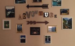 Stunning My Adventure Wall to Display Hiking Photos On Wall Pictures for Home Decor