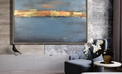 Stunning Oversized Painting Canvas Landscape Paintings Framed On Cool Wall Art for Living Room Ideas