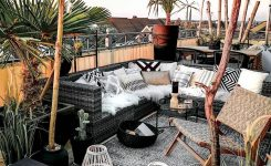 Stunning Security Check Required Les Images Impressionnantes De Diy On Terrace with Bohemian Styles