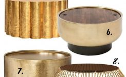 Stunning the Gold Round Coffee Table – 12 Stylish Options On 36 Round Glass Coffee Table