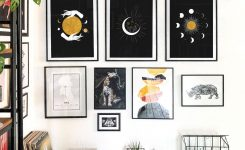 Stunning Witchy Wall Art Witchy Boho Home Decor Gallery Wall Set On Living Room Wall Art Pictures