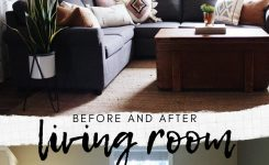 Stupendous before and after Living Room On Awkward Living Room Layout Ideas