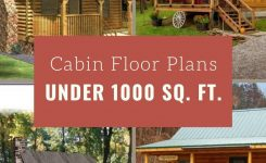 Stupendous Cabin Floor Plans Under 1 000 Square Feet On Small Cabin Plans