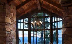 Unbelievable A Dreamy Montana Mountain Retreat Great northern Lodge On Rustic Mountain Retreat House Plans