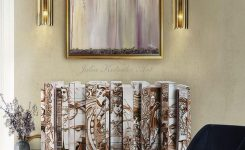 Unbelievable Abstract Oil Painting Wall Art Gold Painting Wall On Wall Decor for Large Walls