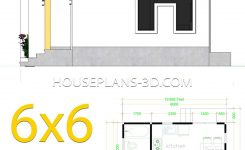 Unbelievable House Plans 6×6 with E Bedrooms Flat Roof House Plans 3d On 3d Room Drawing