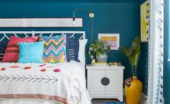Unbelievable This Designer S Colorful forever Home is Filled with On Bright Wall Colors