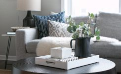 Wonderful A Black Round Coffee Table for Our Living Room On Best Coffee Table for Small Spaces