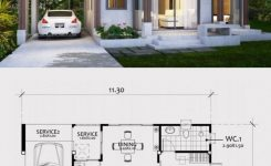 Wonderful Home Design Plan 11x8m with E Bedroom Home Design with On Best Modern House Design 2019